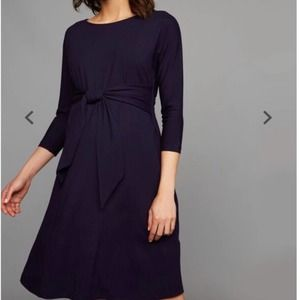 Isabella Oliver Tie Front Maternity Dress